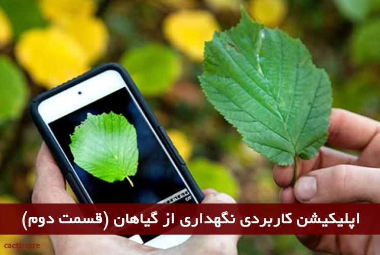اپلیکیشن کاربردی نگهداری از گیاهان (قسمت دوم)