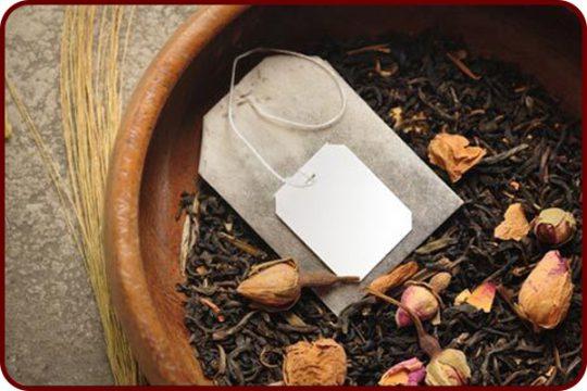 تفاله چای برای خاک گلدان