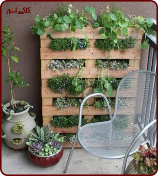 ایده هایی برای ساخت گلدان خانگی